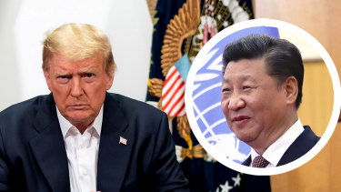 President Donald Trump has threatened to separate the US economy from China's, engaging in a trade war with his counterpart Xi Jinping.