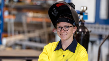 Caitlin Smith wants a career in the military.
