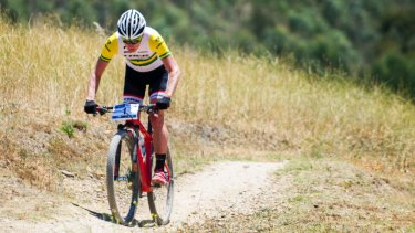 Dan McConnell is one of Canberra's three hopes at the mountain bike world championships in Switzerland.