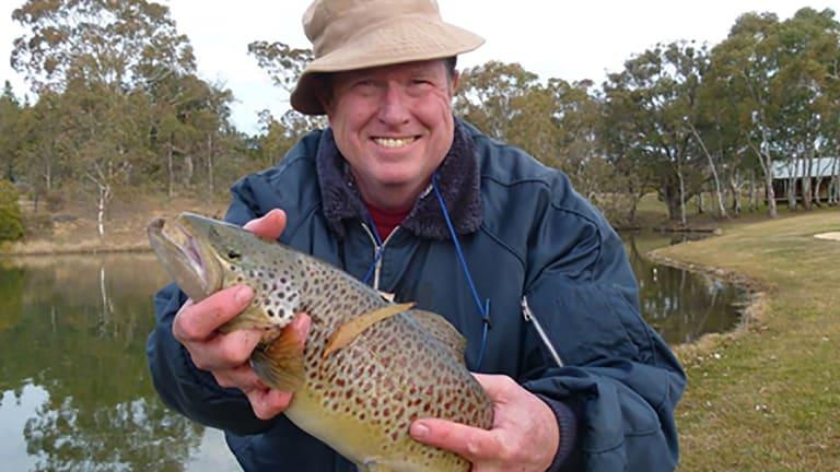 Hal Kendig was a keen fisherman.