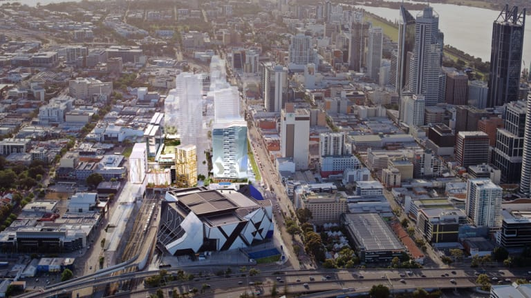 Far East Consortium will build two towers at the Perth city link.