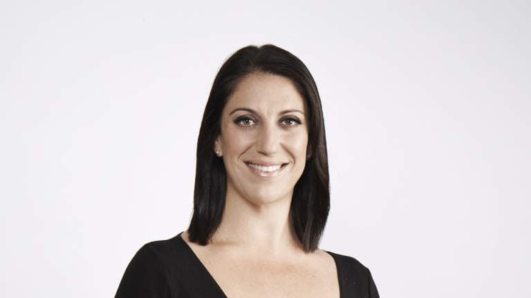 Lisa Squillace ended up in a dispute with Seven, after accepting a job with Network Ten.