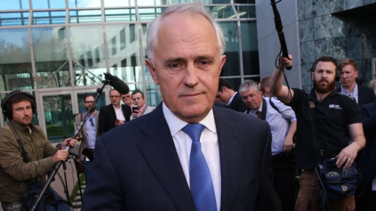 Malcolm Turnbull announces he will challenge Tony Abbott for the leadership in 2015.
