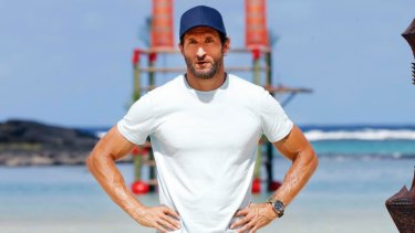 Is Jonathan LaPaglia heading for the wilds of Africa? The Survivor Australia host in Samoa.