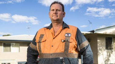 Coal miner Russell Robertson is Labor's candidate in the Queensland seat of Capricornia.