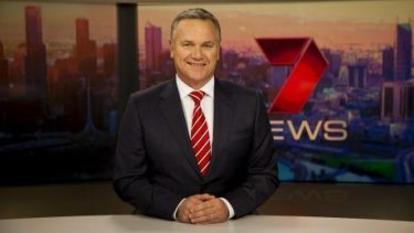 Peter Mitchell on  Seven News.