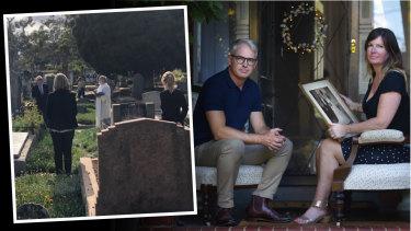 Funeral social distancing.