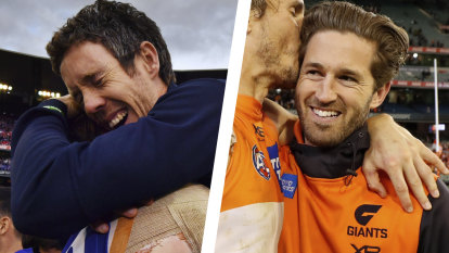 'It's OK to be jealous, Cal': Bob Murphy talks to injured GWS captain