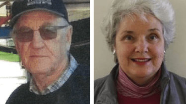 Russell Hill and Carol Clay have been missing