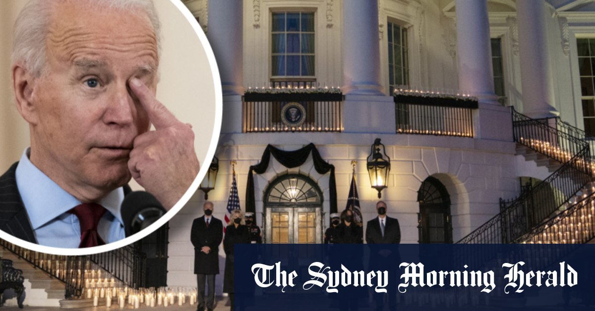 After 500000 lives lost a ray of hope shines on the American horizon – Sydney Morning Herald