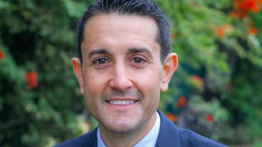 New LNP leader David Crisafulli.