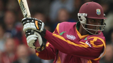 Chris Gayle hit four fours and seven sixes in his innings of 67 at St Lucia in the third T20 international.