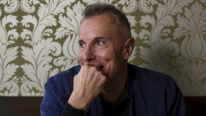 'You're allowed a year of being insufferable': lunch with James Reyne