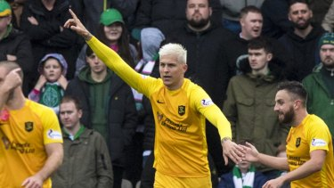 Lyndon Dykes' exploits for Livingston this season have not gone unnoticed in England.