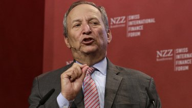 """Former US Treasury secretary Larry Summers has accused the Fed of """"dangerous complacency""""."""