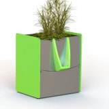 A GreenPee sustainable urinal.