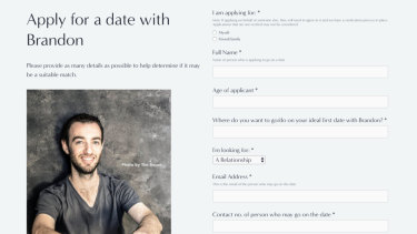 Brandon Cowan started his own website DateBrandon.com, because he'd grown tired of the emotional demands of online dating.