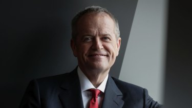 """""""We are ready"""": Labor leader Bill Shorten used the conference to cement unity."""