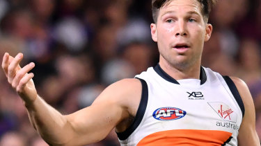 Toby Greene will front the AFL tribunal for the second time in the space of a week on Tuesday night.