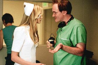 Tarantino directs Daryl Hannah in 2003's Kill Bill Volume 1.