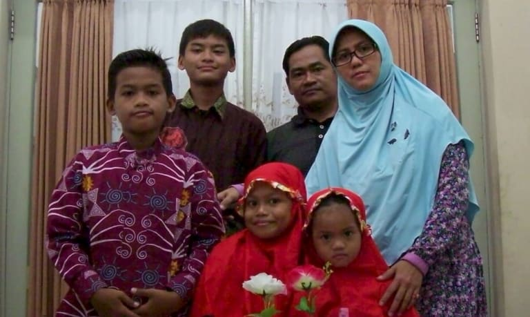 The family police say were responsible for the church bombings.