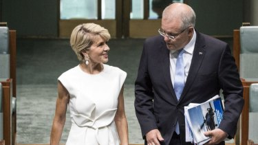 The PM we never had, and Morrison's failure to value Julie Bishop