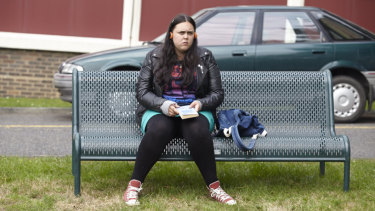 Sharon Rooney plays 16-year-old Rae Earl in My Mad Fat Diary.