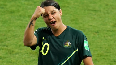 Sam Kerr won't be playing in the W-League this season.