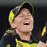 Australia beat South Africa and wet weather to advance to T20 World Cup final