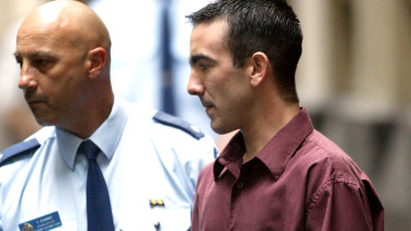 Jason Roberts, pictured in 2002, who was convicted of murdering two police officers, is making a plea for mercy.