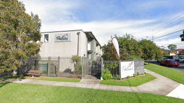 A Google Street view shot of The Palms in Kirrawee.