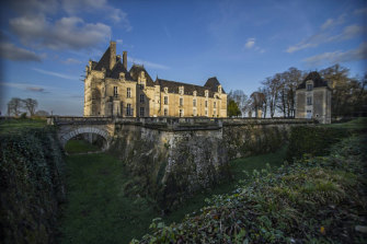 Château de Jalesnes in the Loire Valley, France, now owned by David Savage and run as a wedding venue.