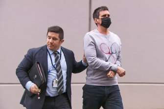 Richard Pusey, the driver of a black Porsche involved in the horrific Eastern Freeway crash.