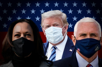 Donald Trump's COVID diagnosis is likely to be the focus of the vice-presidential debate between Kamala Harris and Mike Pence.