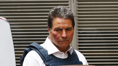 Lucky Gattellari has pleaded not guilty to being involved in two plots to demand money from Medich.