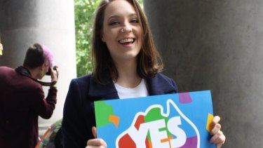 Sally Rugg was one of the most prominent faces of the Yes campaign.
