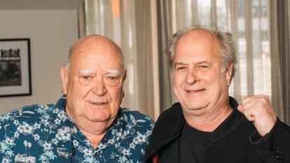 Promoters Michael Chugg and Michael Gudinski get the band back together