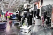 """Nike's """"obese"""" mannequins."""