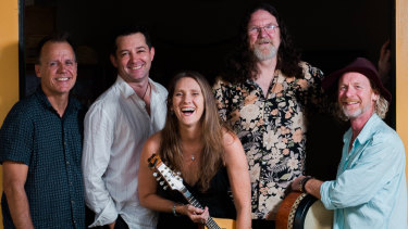 Irish band Barleyshakes will perform at this year's Woodford Folk Festival.