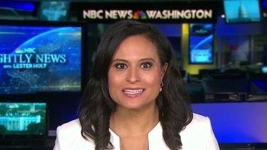 NBC News White House correspondent Kristen Welker, moderator of the second presidential debate.