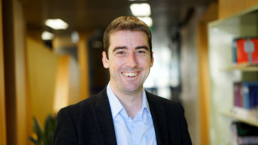 Dr Joshua Healy  Senior Research Fellow in the Centre for Workplace Leadership at the University of Melbourne.