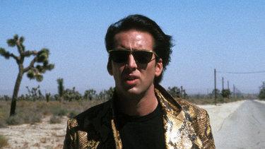 Nicolas Cage as Sailor Ripley in Wild at Heart.