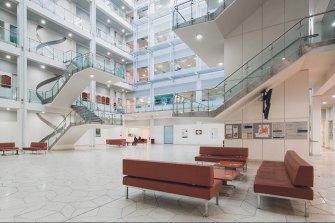 UWA's molecular sciences building.