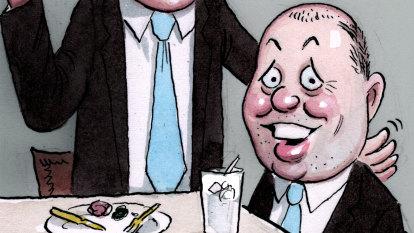 Alan Joyce a no-show at budget for good reason