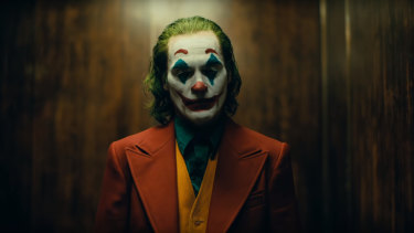Joaquin Phoenix plays the struggling comedian who winds up as Batman's nemesis in Joker.
