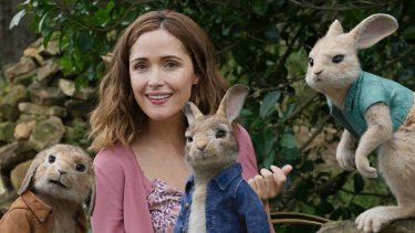 Rose Byrne in Peter Rabbit ... Animal Logic executives believe the new incentive will bring more production like it to Sydney.