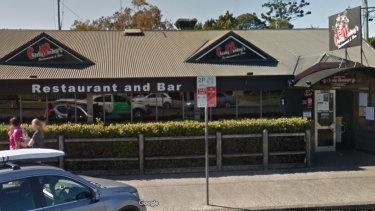 Cheeky Monkey's Restaurant and Bar in Jonson Street, Byron Bay, where Belgian backpackerTheo Hayez was last seen.
