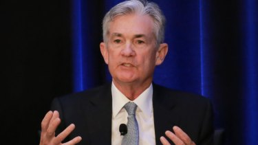 Jerome Powell, chairman of the US Federal Reserve Board.   Will the Fed's balance sheet shrinking program remain on autopilot?