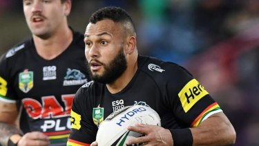 Gone: Tyrone Phillips announced his resignation from the Panthers on Monday.