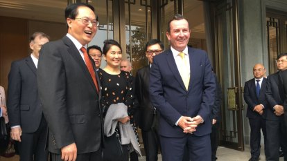 McGowan urges Morrison to mend China relationship as diplomatic row hits new low